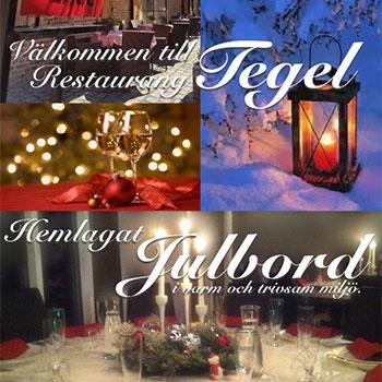 Julbord på Restaurang Tegel i RYDEBÄCK | Julbordsportalen.se