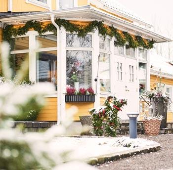 Julbord på Björkhaga Hotell & Konferens i MULLSJÖ | Julbordsportalen.se