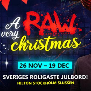 Julbord på A Very RAW Christmas Sthlm i STOCKHOLM | Julbordsportalen.se