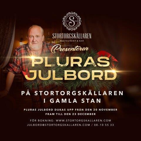 Julbord på Stortorgskällaren i STOCKHOLM | Julbordsportalen.se