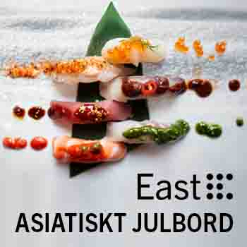 Julbord på East i STOCKHOLM | Julbordsportalen.se