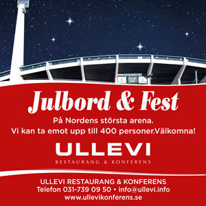 Julbord på Ullevi Restaurang & Konferens i GÖTEBORG | Julbordsportalen.se