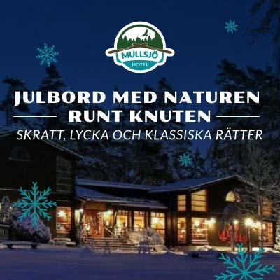 Julbord på Hotel Mullsjö i MULLSJÖ | Julbordsportalen.se