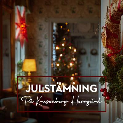 Julbord på Krusenberg Herrgård i UPPSALA | Julbordsportalen.se
