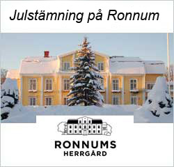 Julbord på Ronnums Herrgård i VARGÖN | Julbordsportalen.se