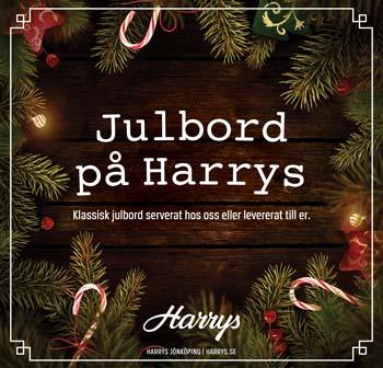 Julbord på Harrys Bar & Nattklubb i JÖNKÖPING | Julbordsportalen.se