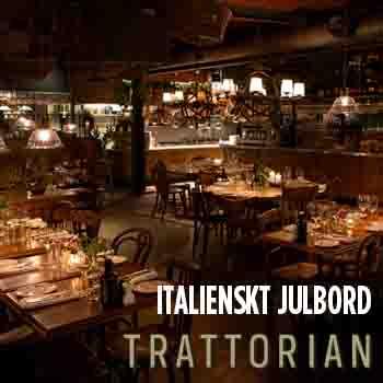 Julbord på Trattorian i STOCKHOLM | Julbordsportalen.se