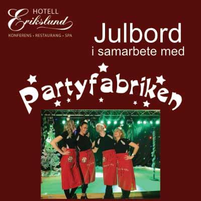 Julbord på Hotell Erikslund i ÄNGELHOLM | Julbordsportalen.se