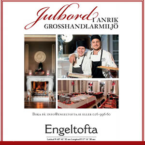Julbord på Engeltofta i GÄVLE | Julbordsportalen.se