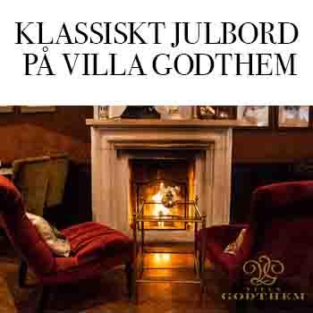 Julbord på Villa Godthem på Djurgården i STOCKHOLM | Julbordsportalen.se