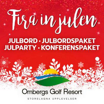 Julbord på Ombergs Golf Resort i ÖDESHÖG | Julbordsportalen.se
