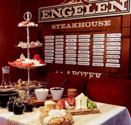 Julbord på Pub & Steakhouse Engelen i STOCKHOLM | Julbordsportalen.se