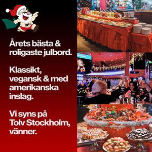 Julbord på O'Learys Tolv Tele2 Arena i STOCKHOLM | Julbordsportalen.se