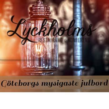 Julbord på Lyckholms Restaurang & Konferens i GÖTEBORG | Julbordsportalen.se