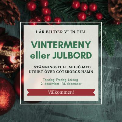 Julbord på Lindholmens Matsal i GÖTEBORG   Julbordsportalen.se