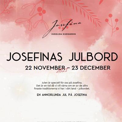 Julbord på Josefina i STOCKHOLM | Julbordsportalen.se