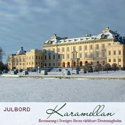 Julbord på Karamellan Drottningholm i DROTTNINGHOLM | Julbordsportalen.se