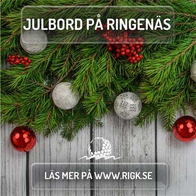 Julbord på Ringenäs Golfklubb i HALMSTAD | Julbordsportalen.se