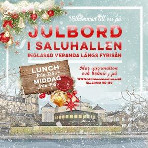 Julbord på Uppsala Saluhall i UPPSALA | Julbordsportalen.se