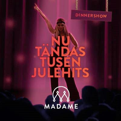 Julbord på Madame Brasseri & Café i VÄRNAMO | Julbordsportalen.se