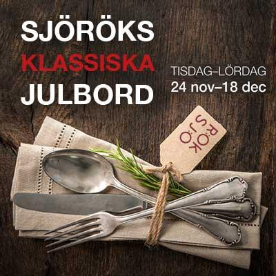 Julbord på Sjörök i KARLSKRONA | Julbordsportalen.se