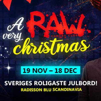 Julbord på A Very RAW Christmas Gbg i GÖTEBORG | Julbordsportalen.se