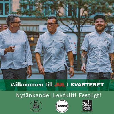 Julbord på Quality Hotel The Mill i MALMÖ | Julbordsportalen.se